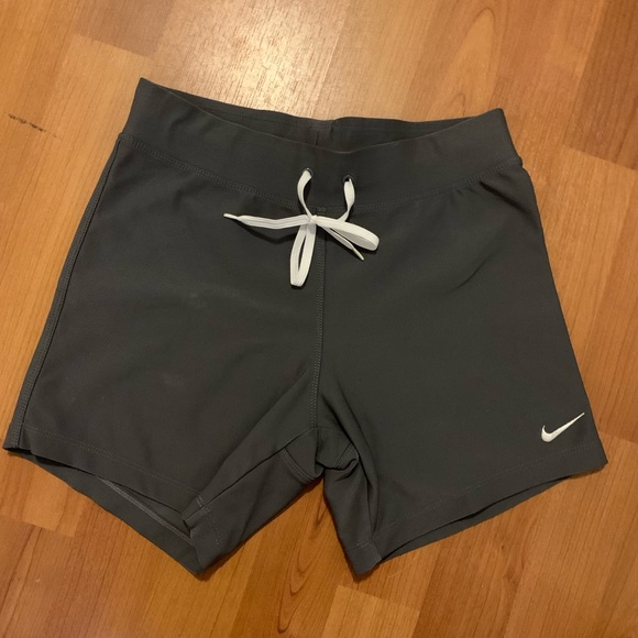 Nike Pants - Nike Dri-fit sz small. Color Navy/orange